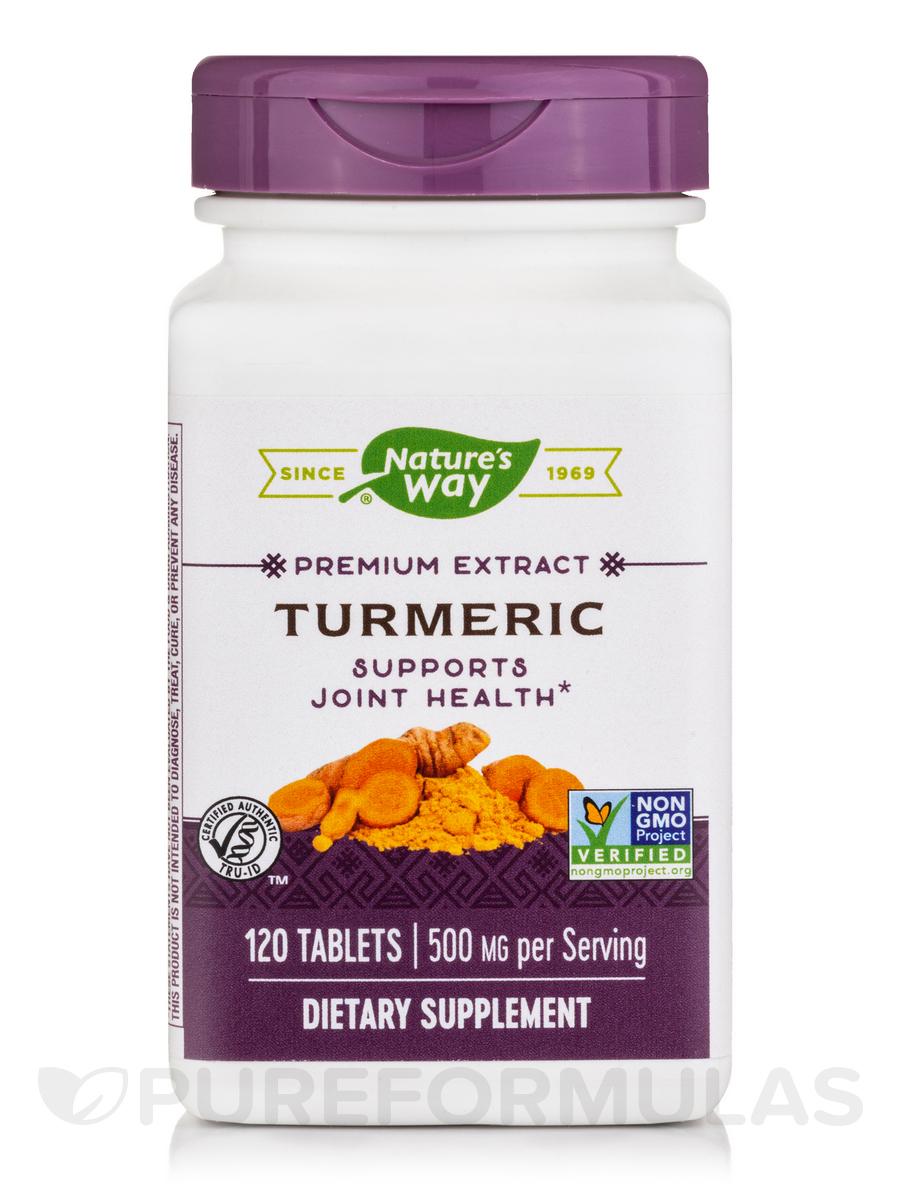 Turmeric - 120 Tablets