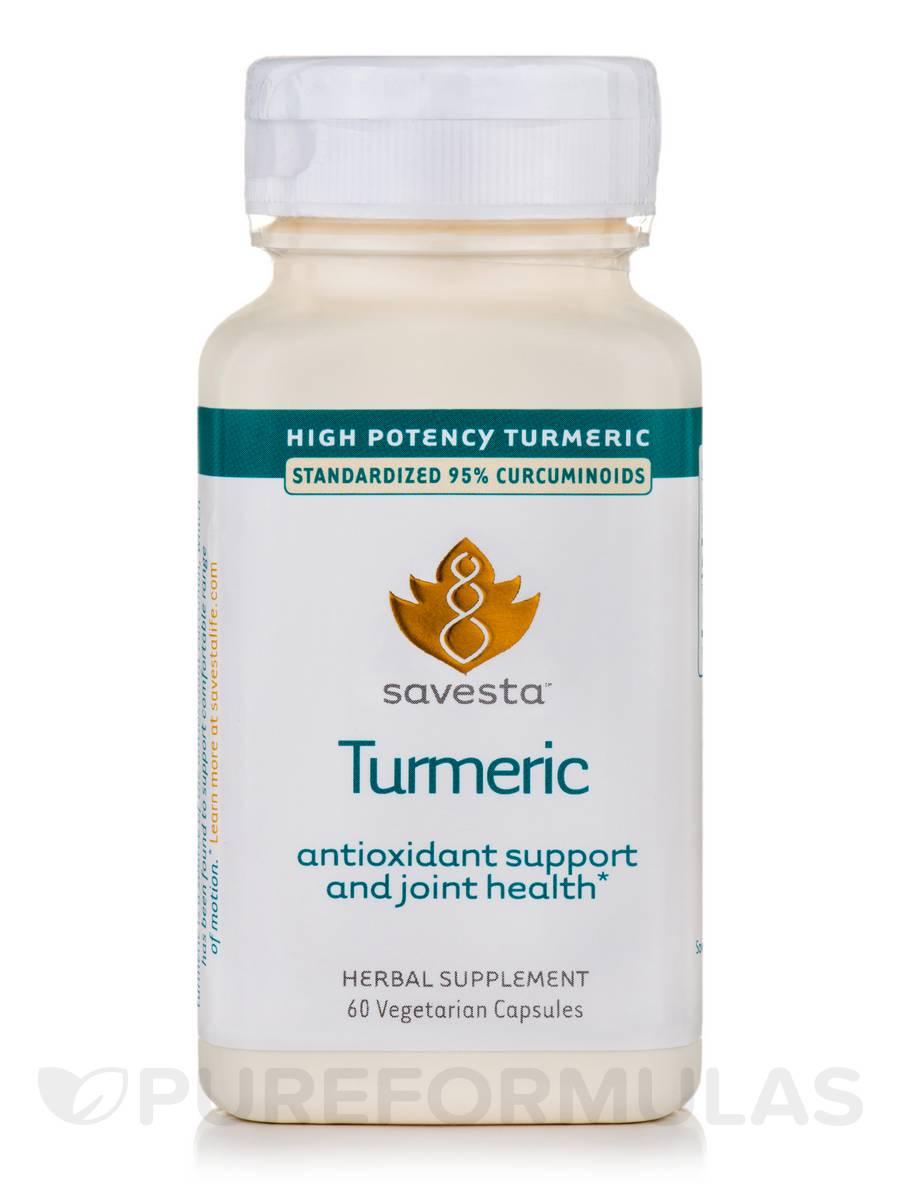 Turmeric - 60 Vegetarian Capsules