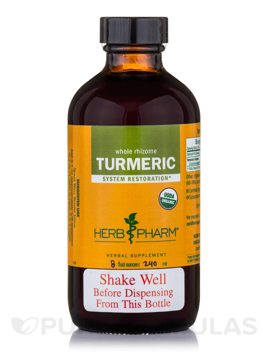 Turmeric - 8 fl. oz (240 ml)