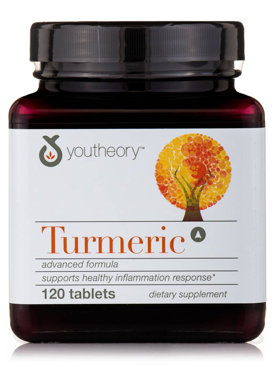 Turmeric, Advanced Formula - 120 Tablets