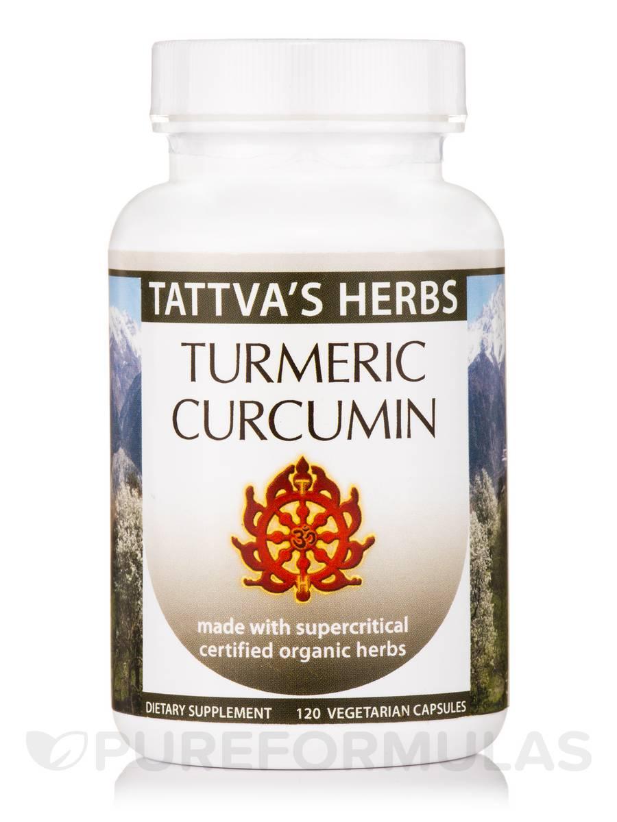 Turmeric Curcumin Tri Force Organic - 120 Vegetarian Capsules