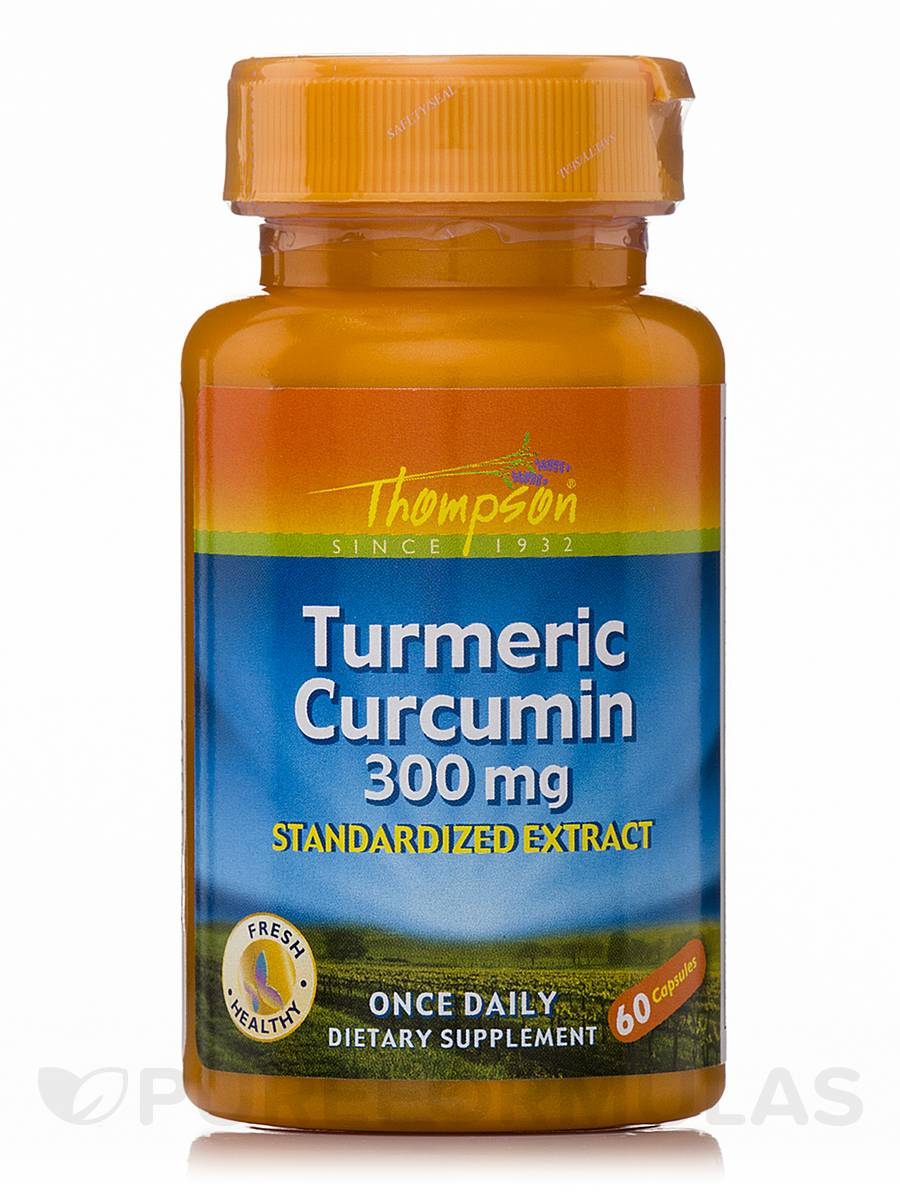 Turmeric Curcumin 300 mg (Standardized Extract) - 60 Capsules