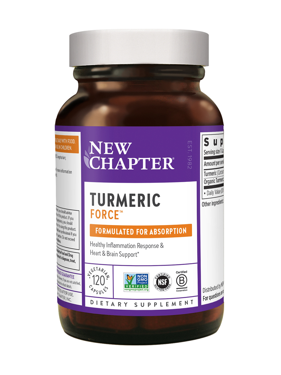 Turmeric Force® - 120 Vegetarian Capsules