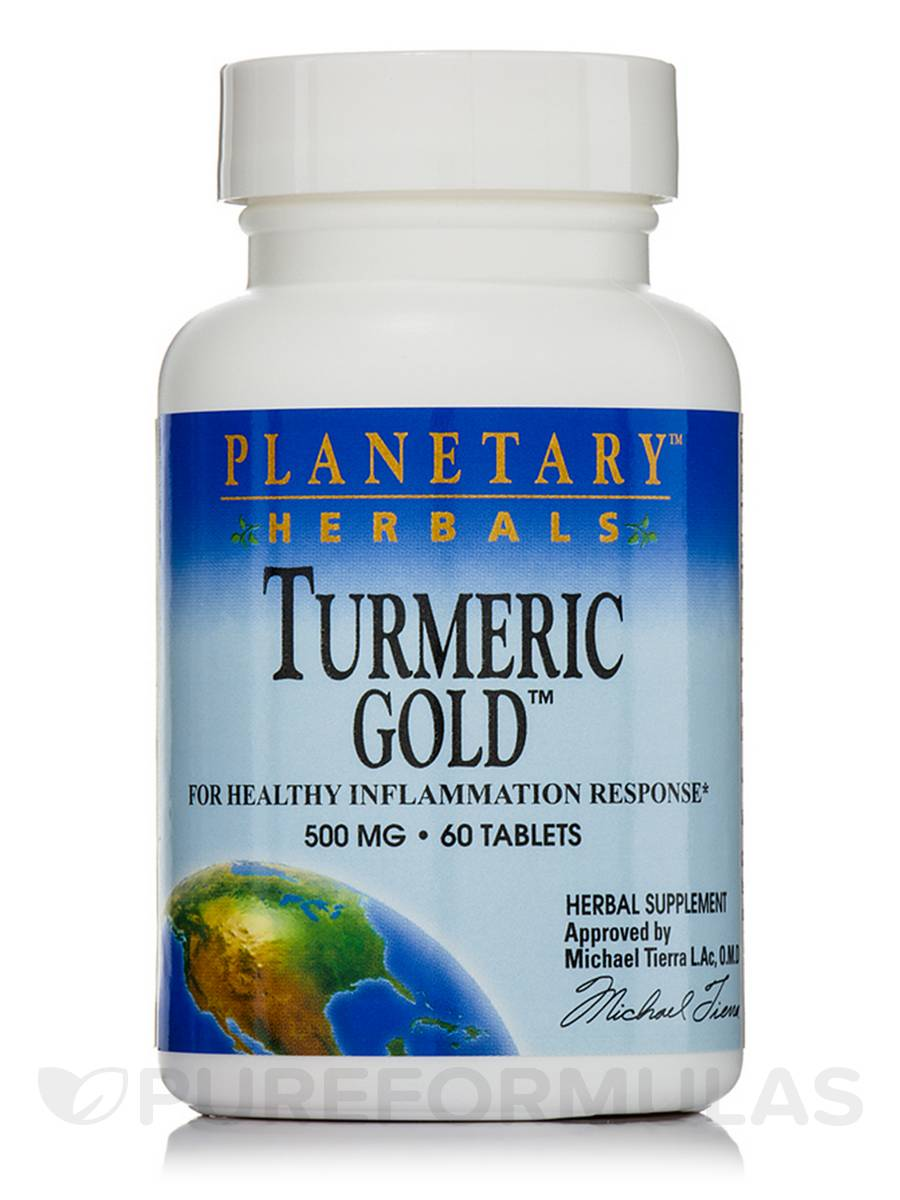 Turmeric Gold 500 mg - 60 Tablets