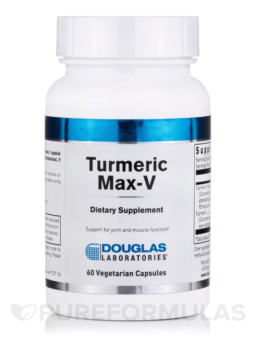 Turmeric Max-V - 60 Vegetarian Capsules