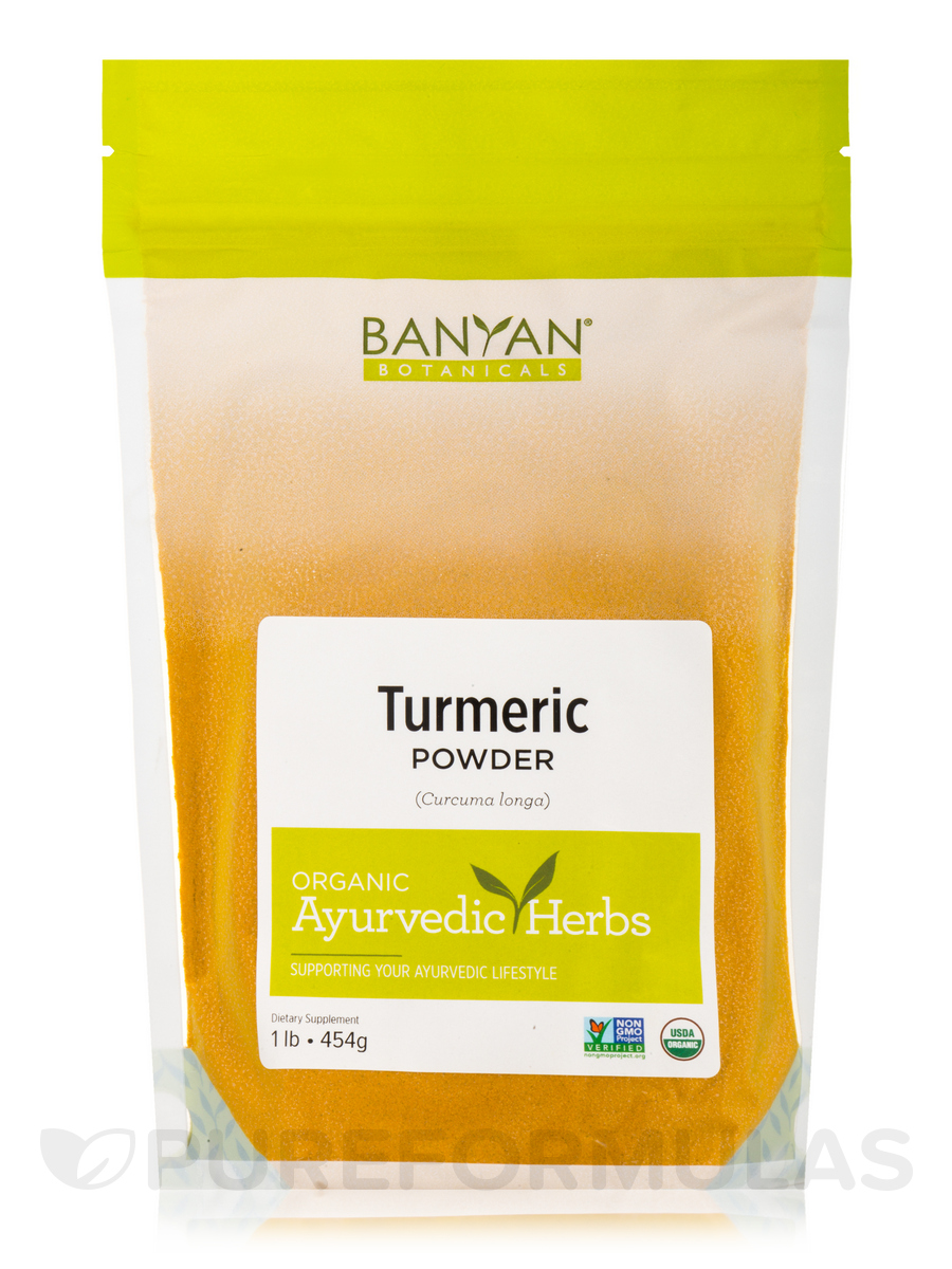 Turmeric Powder, Organic - 1 Lb (454 Grams)