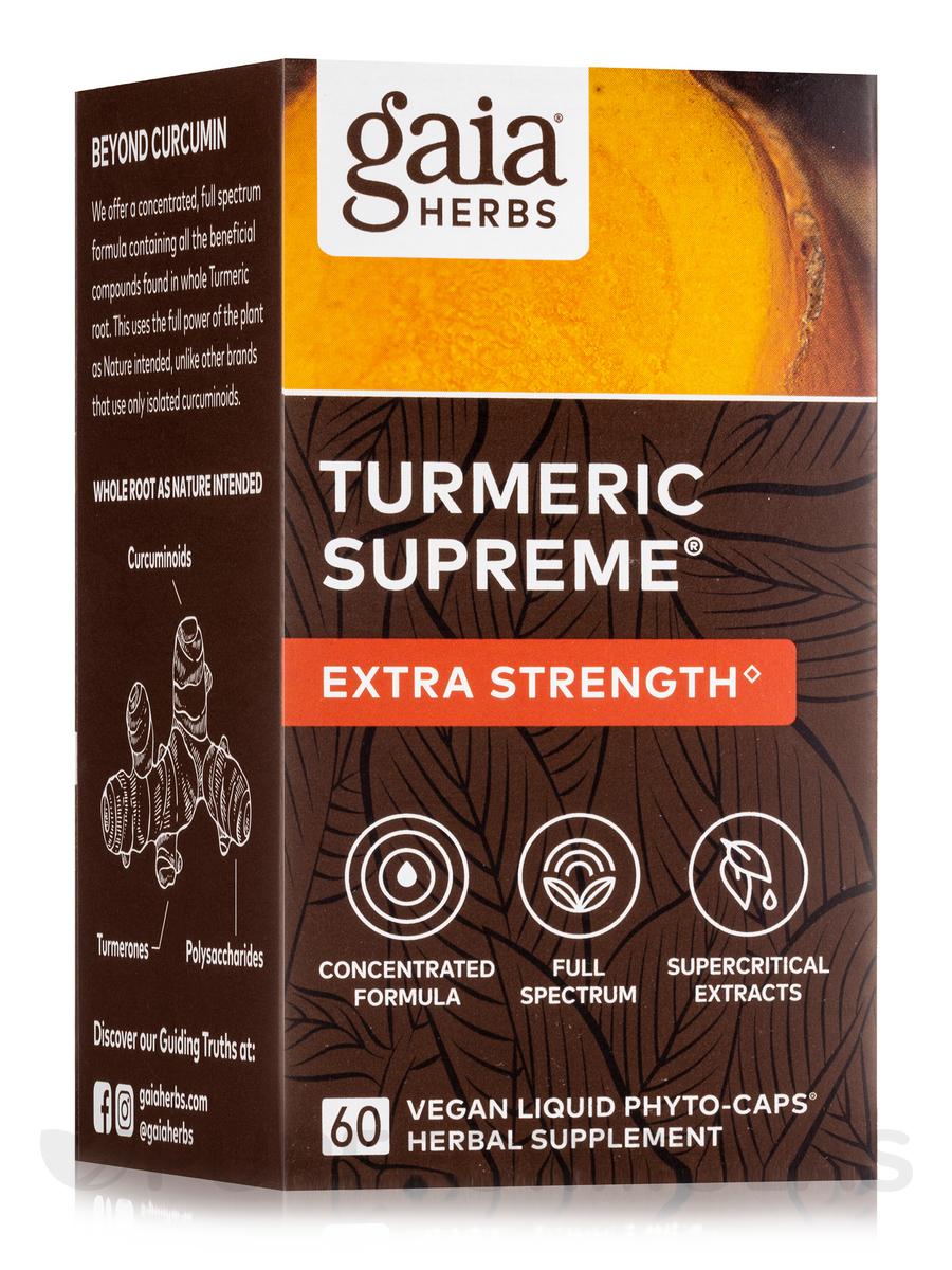 Turmeric Supreme - 60 Vegetarian Liquid Phyto-Caps®