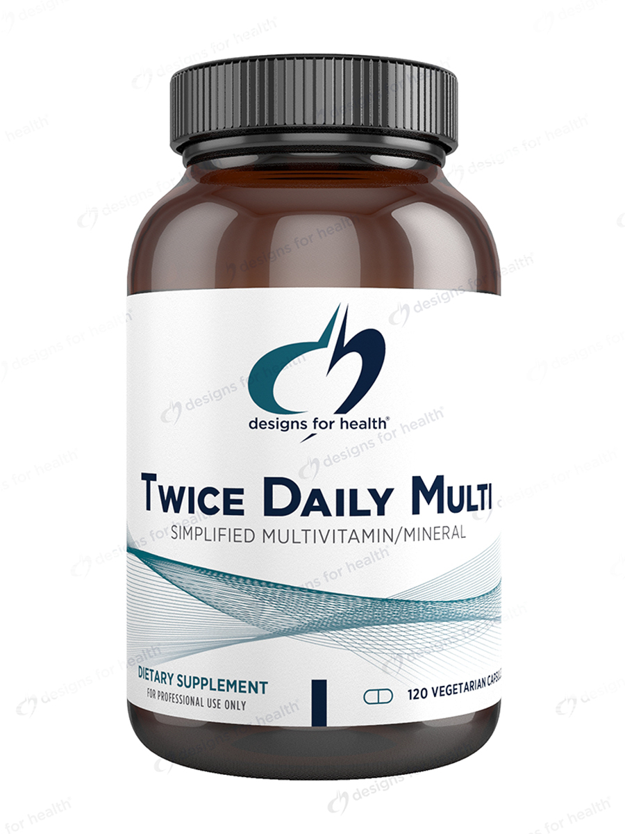Twice Daily Multi™ - 120 Vegetarian Capsules