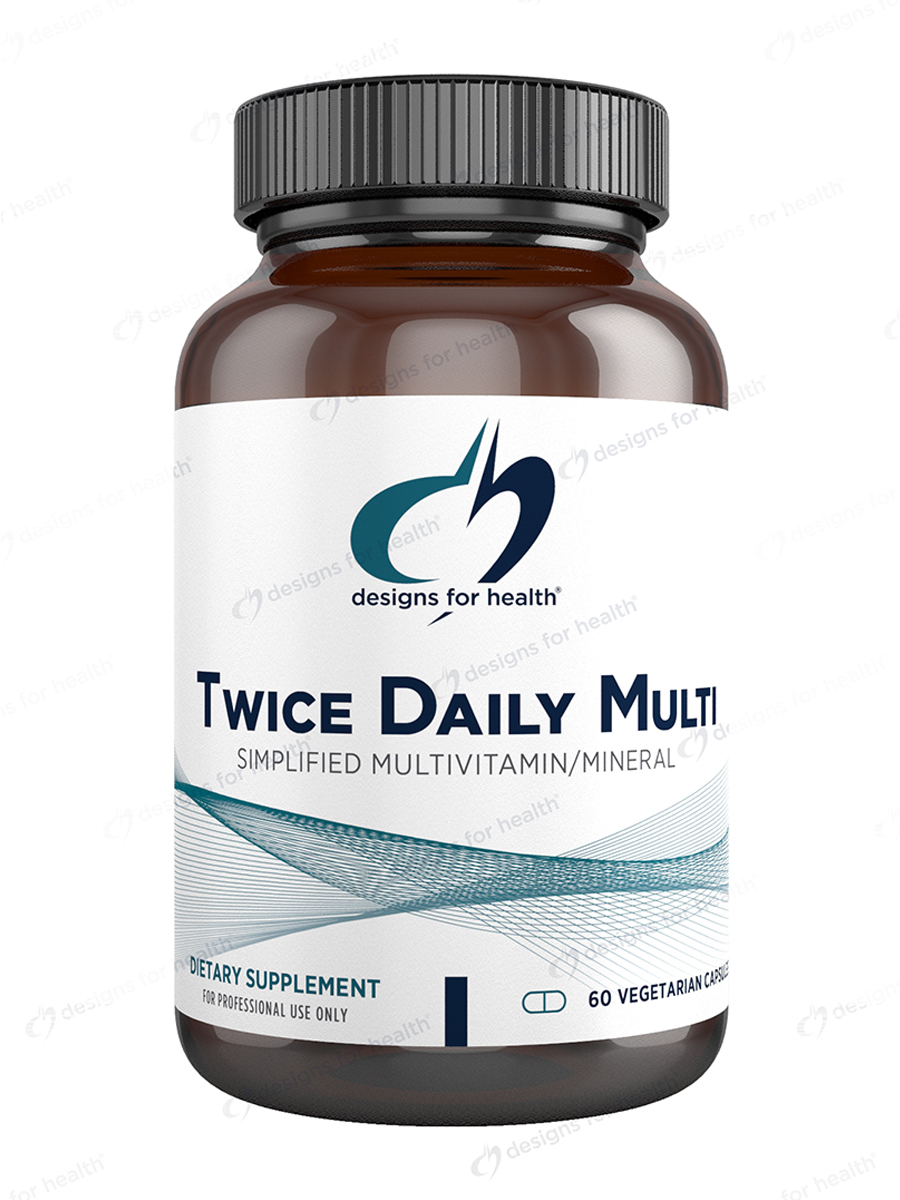 Twice Daily Multi™ - 60 Vegetarian Capsules