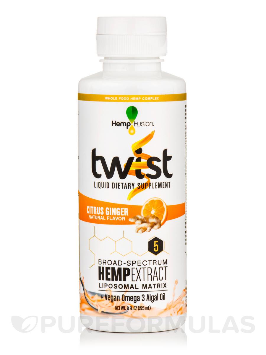 Twist Citrus Ginger Hemp Extract - 8 fl. oz (225 ml)