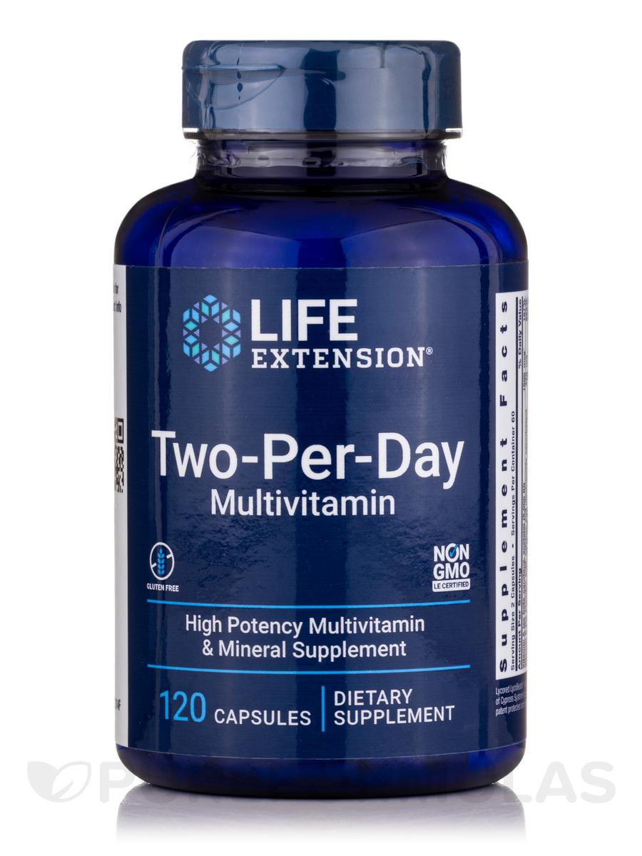Two-Per-Day Capsules - 120 Capsules