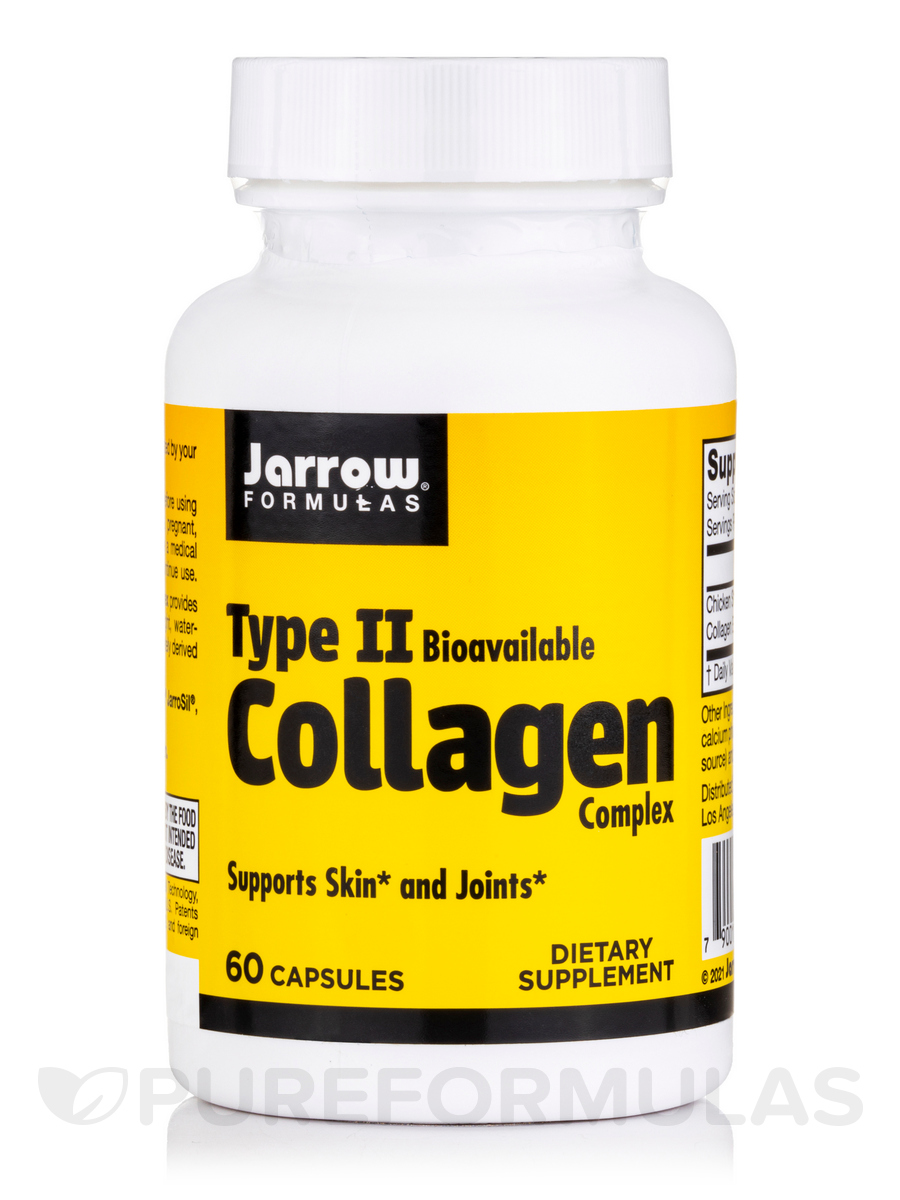 Type II Collagen Complex 500 mg - 60 Capsules