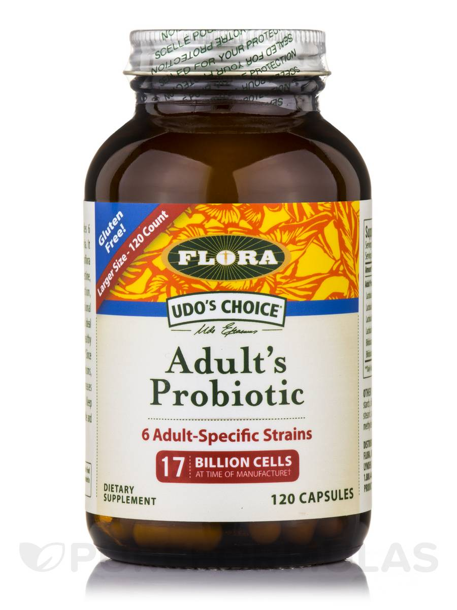 Udo's Choice® Adult's Probiotic - 120 Capsules