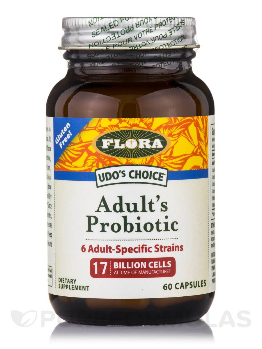 Udo's Choice® Adult's Probiotic - 60 Capsules