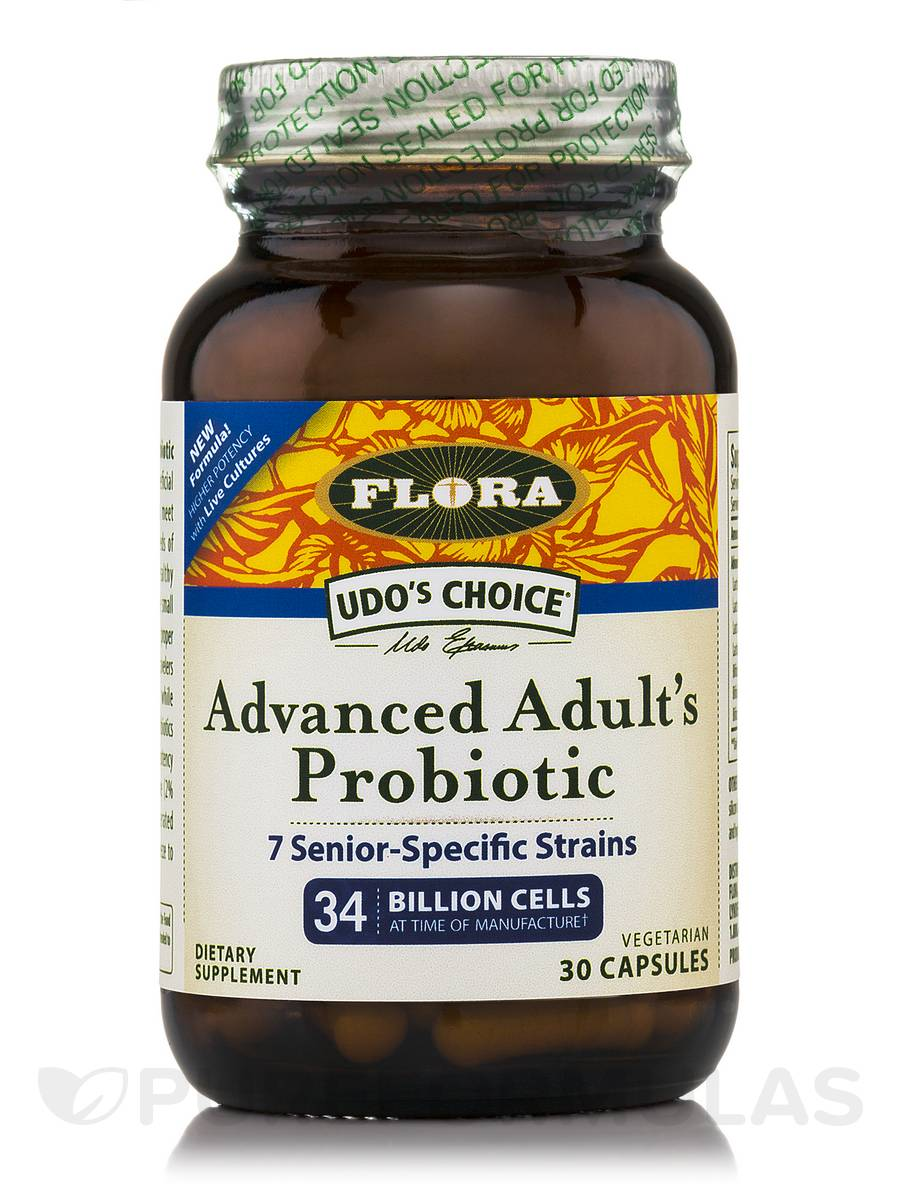 Udo's Choice® Advanced Adult's Probiotic - 30 Vegetarian Capsules