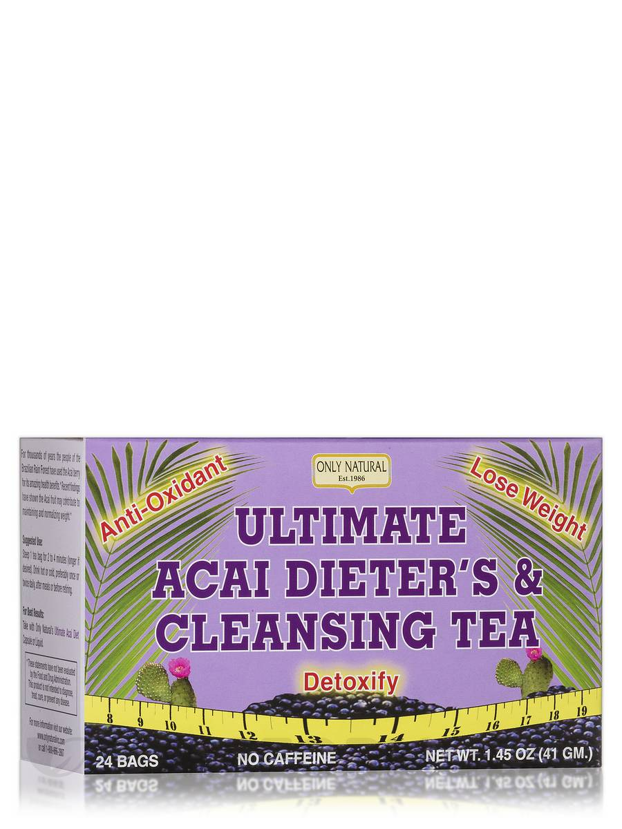 Ultimate Acai Dieter's & Cleansing Tea - 24 Bags