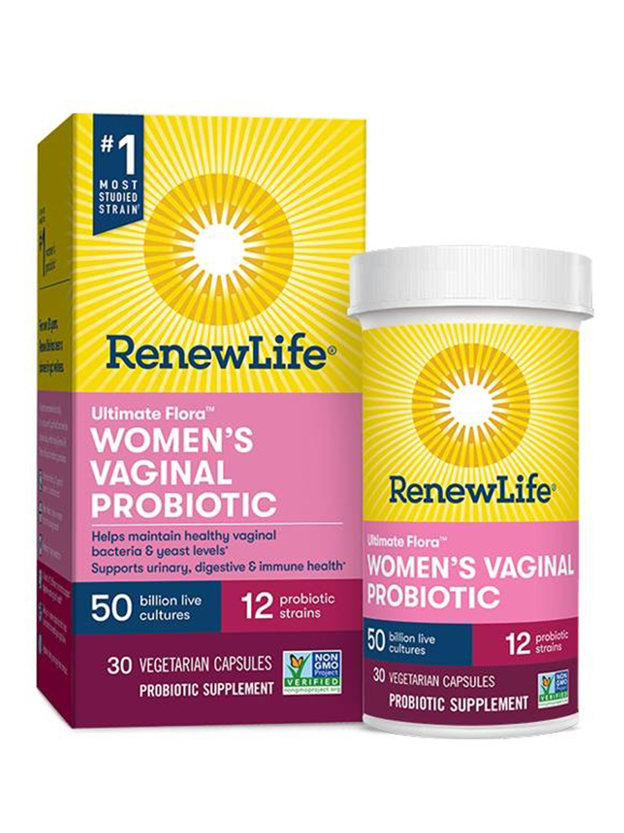 Ultimate Flora™ Women's Vaginal Probiotic 50 Billion - 30 Vegetable Capsules