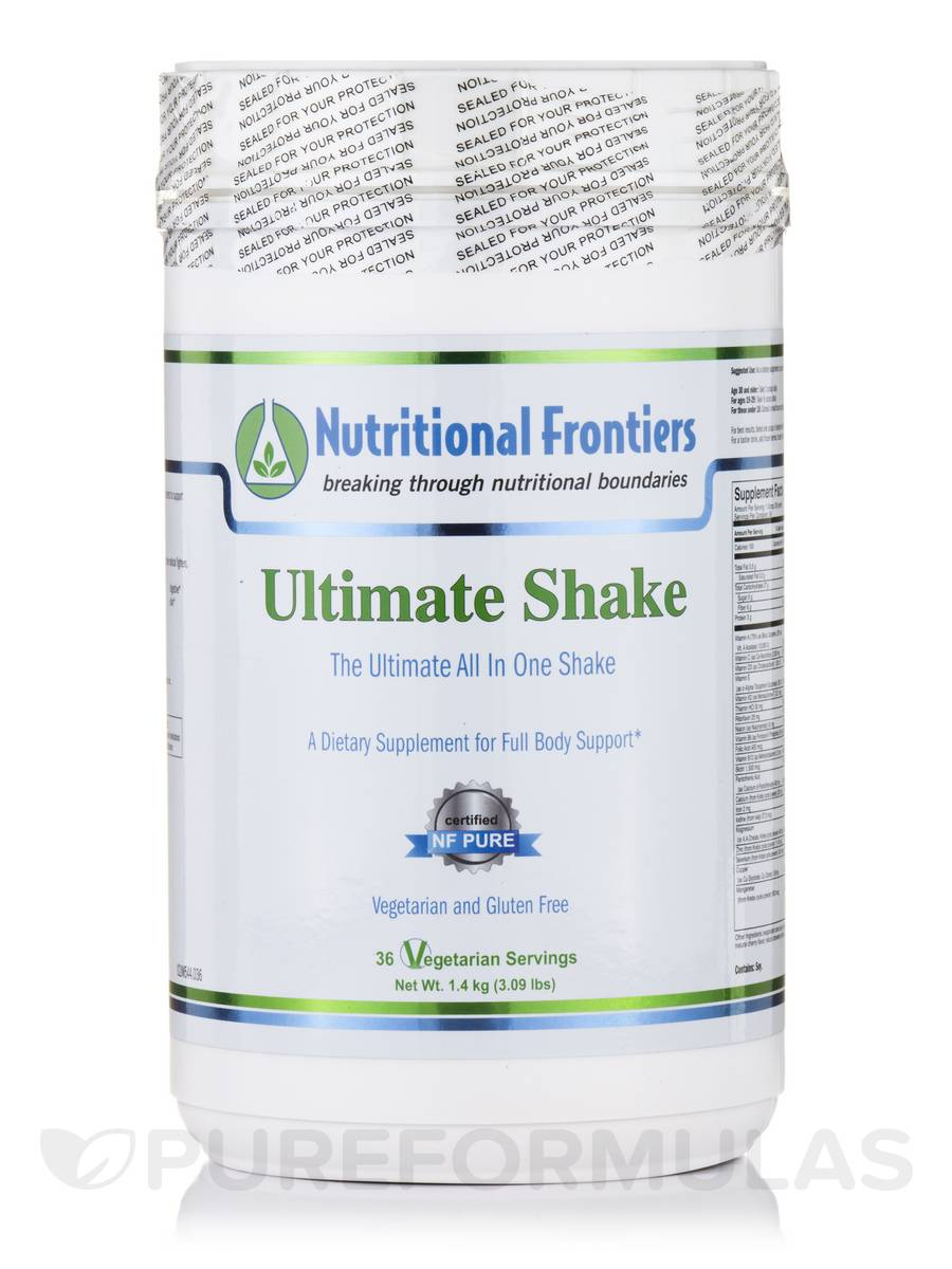 Ultimate Shake - 36 Vegetarian Servings (3.09 lbs / 1.4 kg)