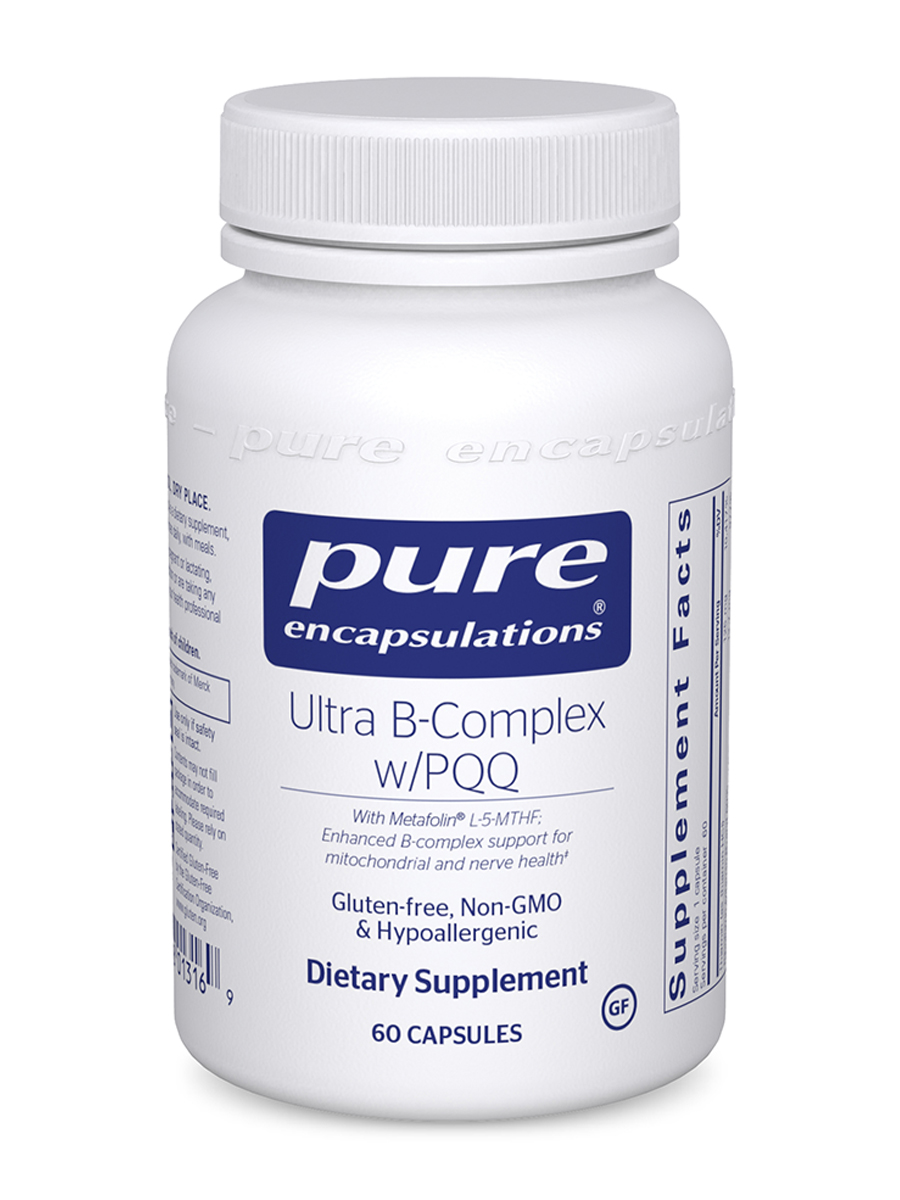 Ultra B-Complex with PQQ - 60 Capsules