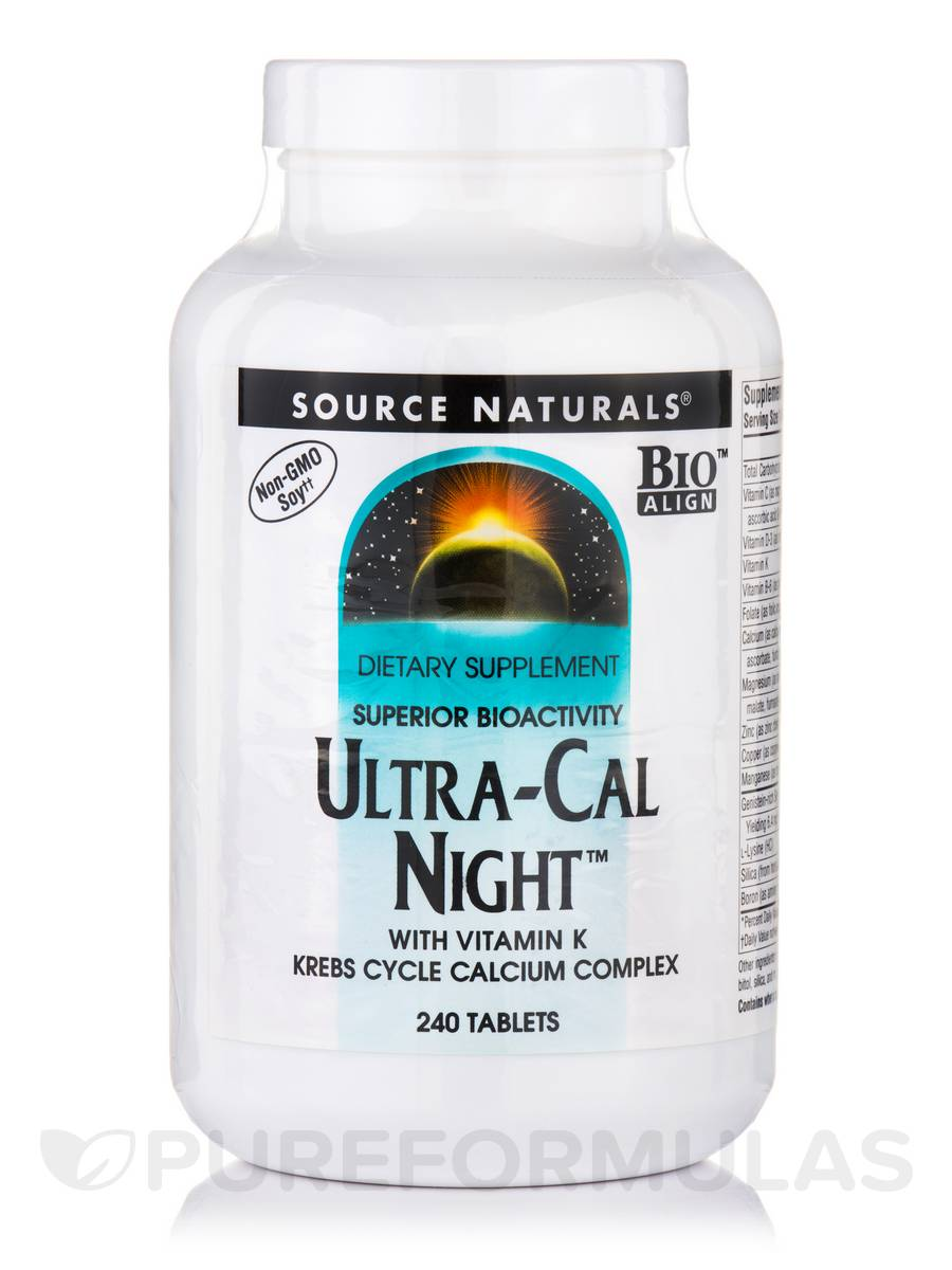 Ultra Cal Night with Vit K - 240 Tablets