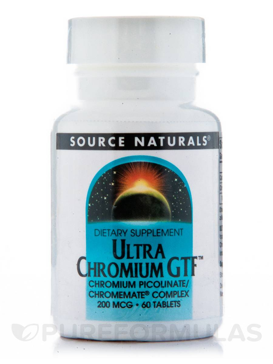 Ultra Chromium GTF 200 mcg - 60 Tablets