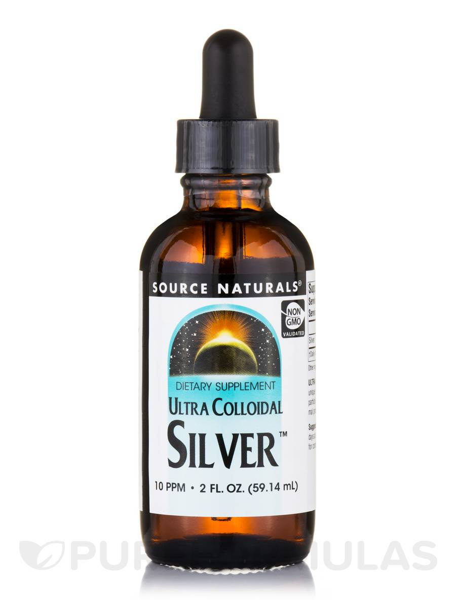 Ultra Colloidal Silver™ (10 PPM) - 2 fl. oz (59.14 ml)