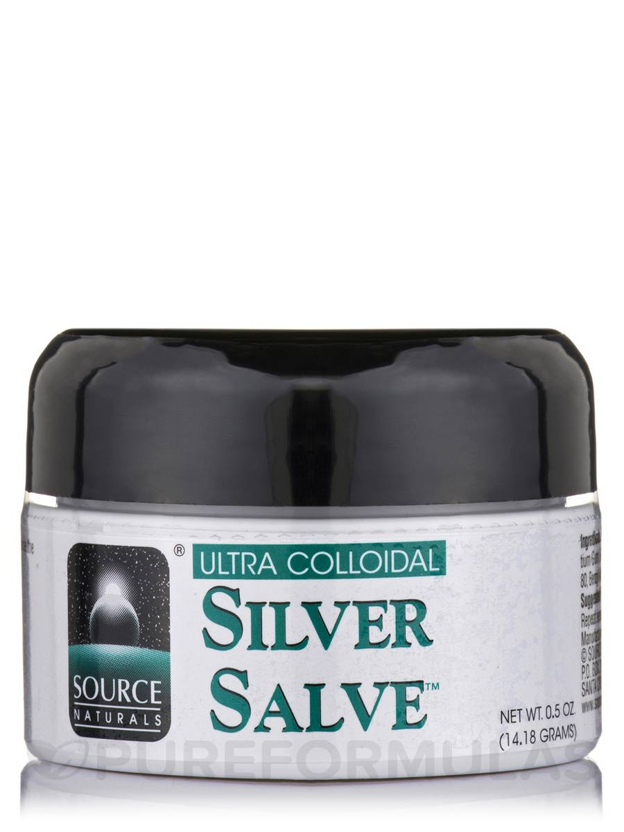 Ultra Colloidal Silver Salve™ - 0.5 oz (14.18 Grams)