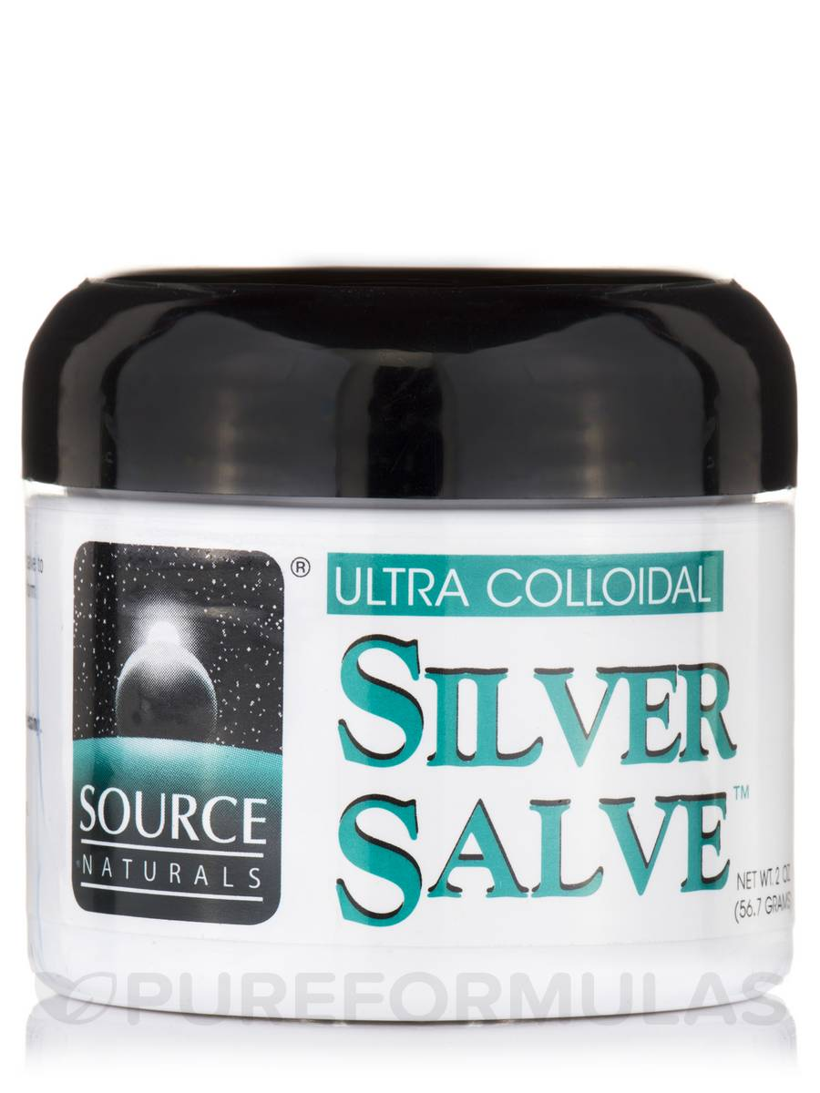 Ultra Colloidal Silver Salve™ - 2 oz (56.7 Grams)