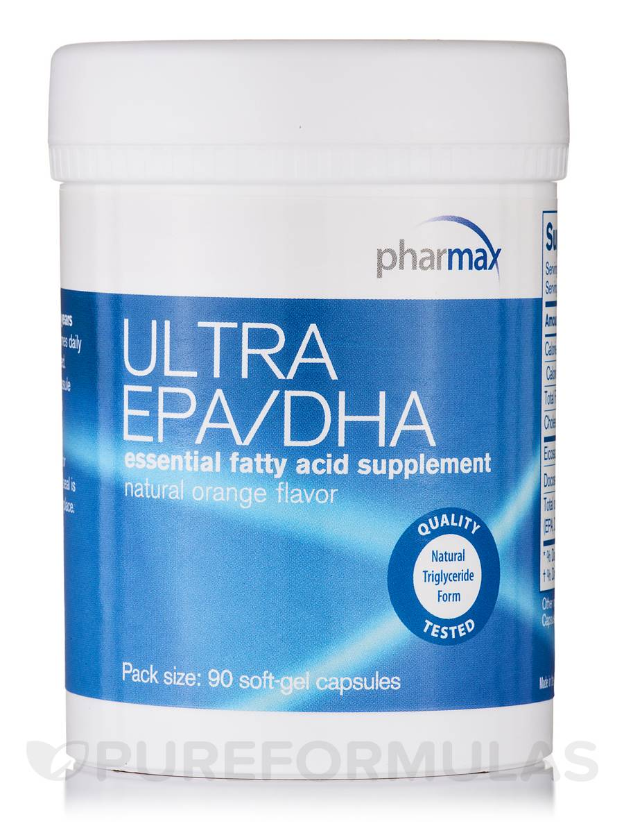 Ultra EPA/DHA (Orange) - 90 Softgel Capsules