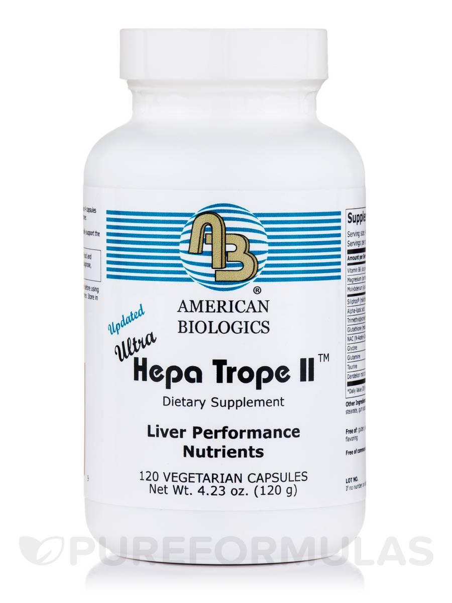 Ultra Hepa Trope II - 120 Capsules