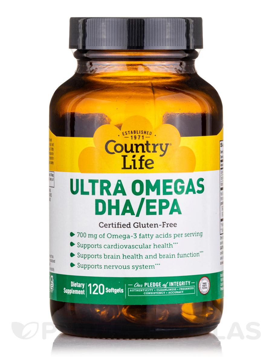 Ultra Omegas DHA/EPA - 120 Softgels