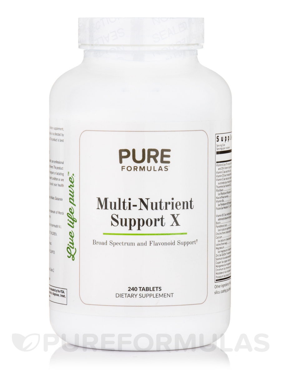 Multi-Nutrient Support X - 240 Tablets