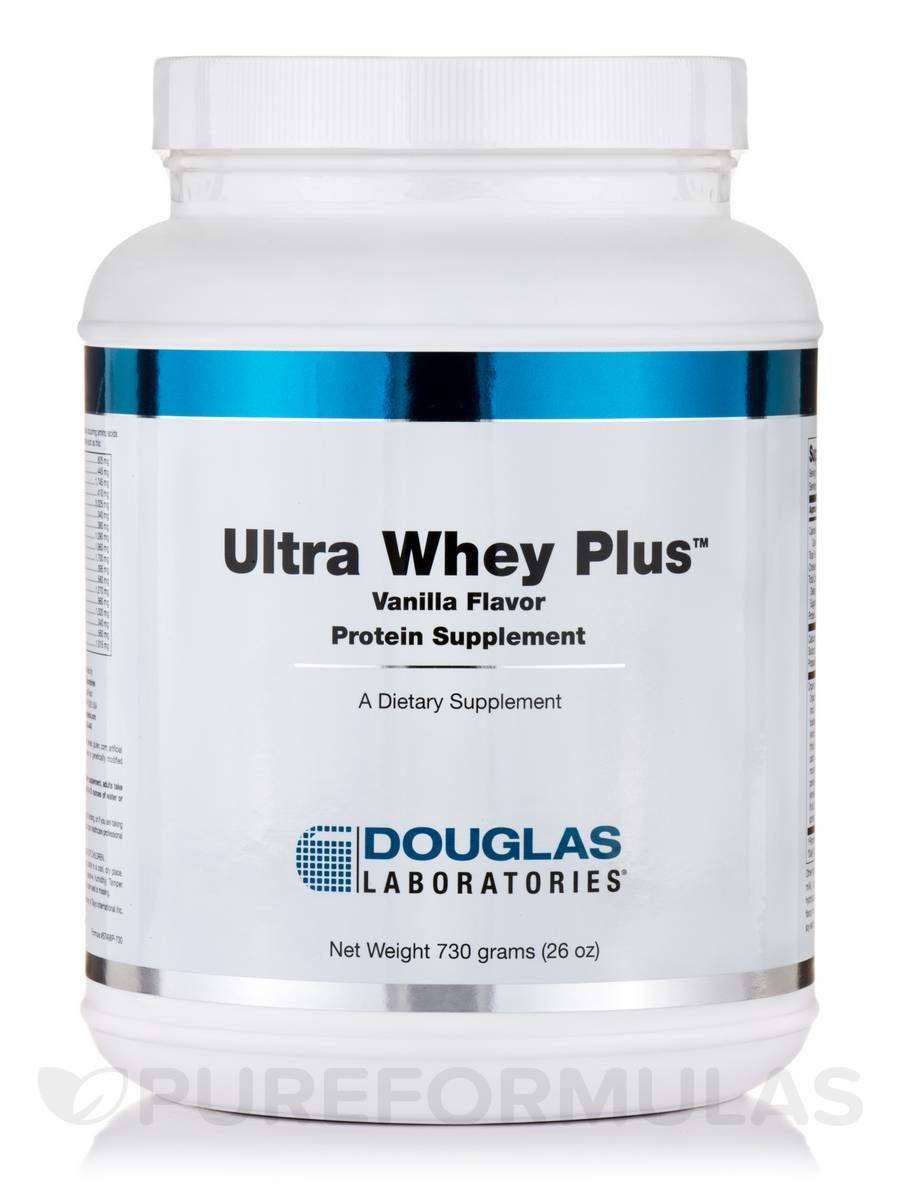 Ultra Whey Plus Vanilla - 26 oz (730 Grams)
