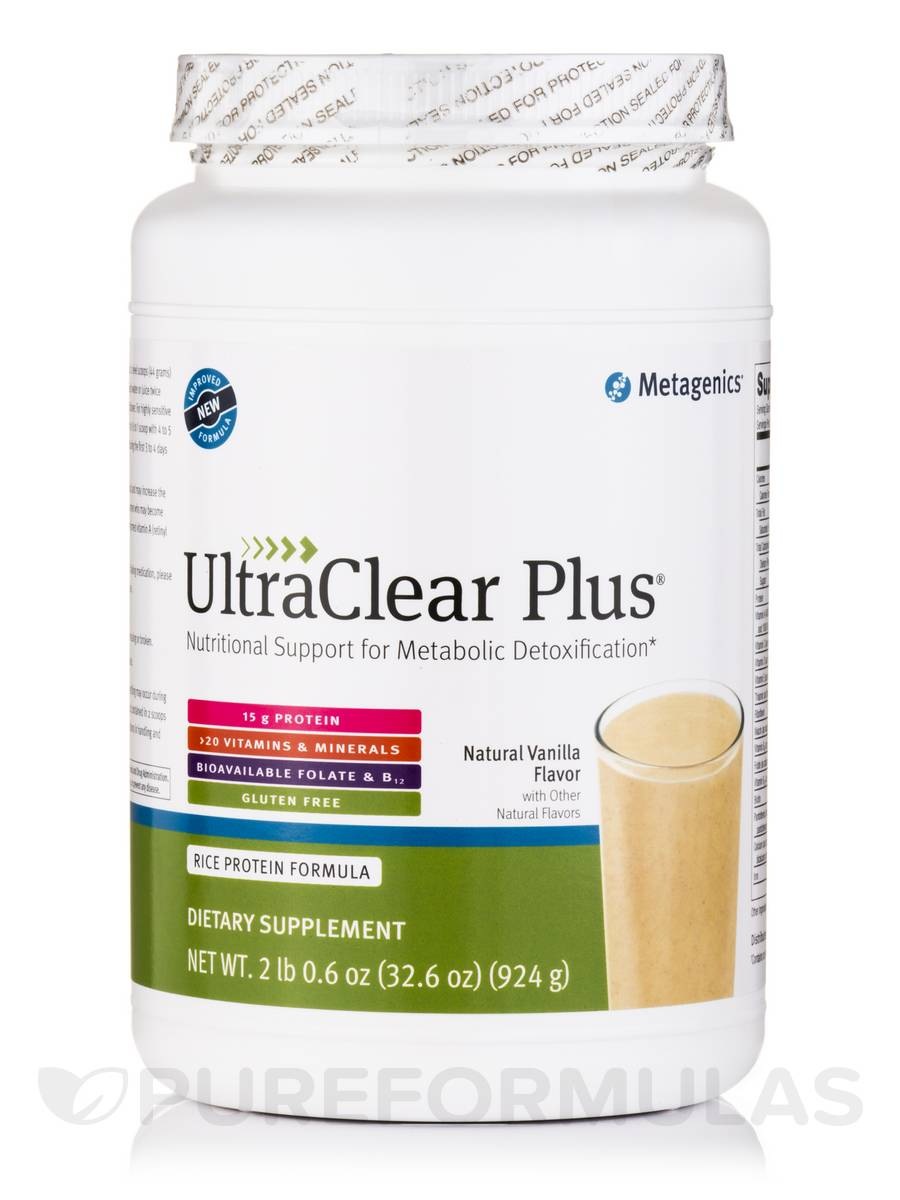 UltraClear PLUS® (Natural Vanilla Flavor) - 32.6 oz (924 Grams)