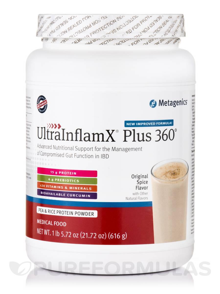 UltraInflamX® Plus 360° Medical Food, Original Spice Flavor - 21.72 oz (616 Grams)