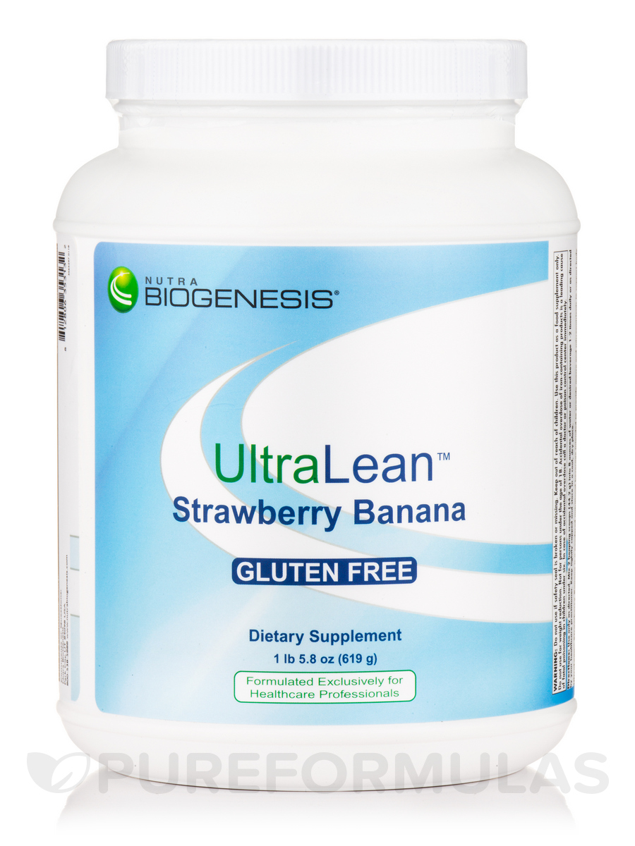 UltraLean Strawberry Banana - 1.23 lb (19.75 oz / 560 Grams)