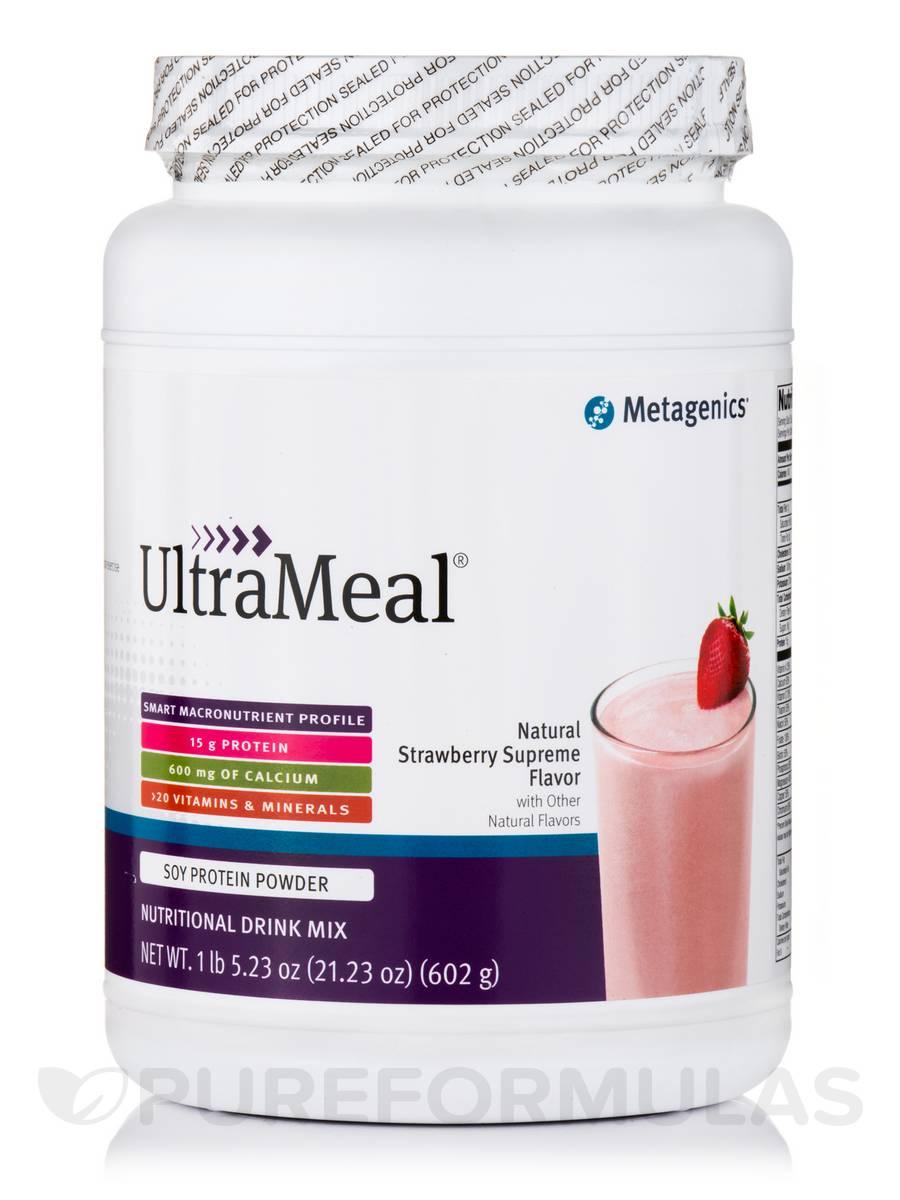 UltraMeal® Medical Food (Strawberry Supreme Flavor) - 21.23 oz (602 Grams)