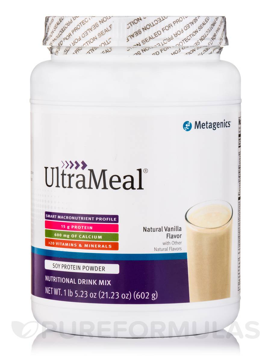 UltraMeal® Nutritional Drink Mix (Natural Vanilla Flavor) - 21.23 oz (602 Grams)