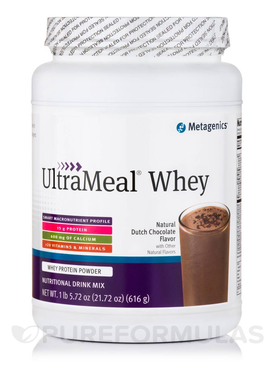 UltraMeal® WHEY (Natural Dutch Chocolate Flavor) - 21.72 oz (616 Grams)
