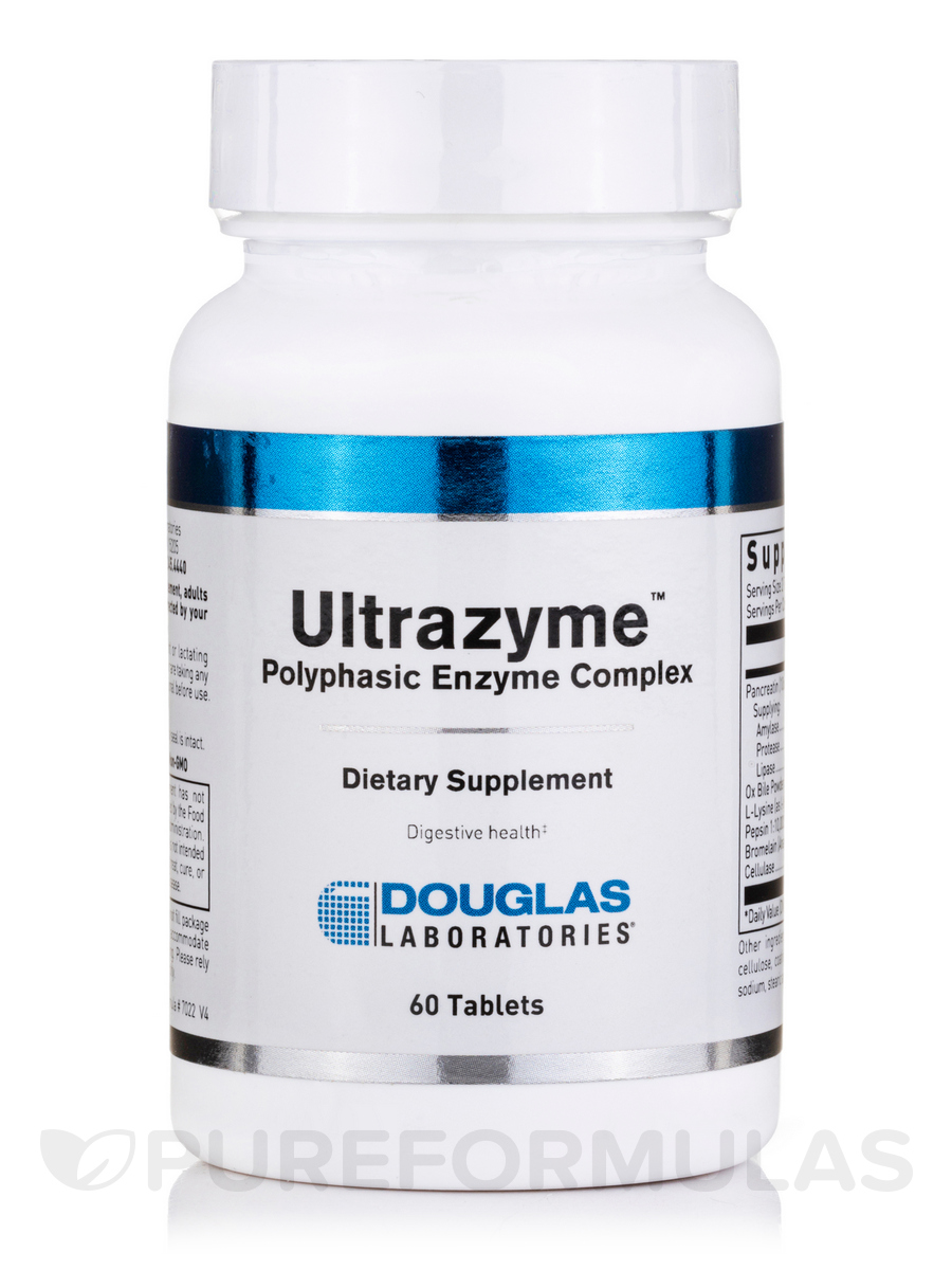 Ultrazyme - 60 Tablets