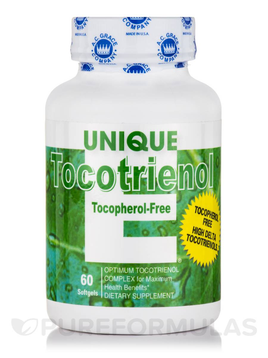 UNIQUE E® Tocotrienol (Tocopherol-Free) - 60 Softgels