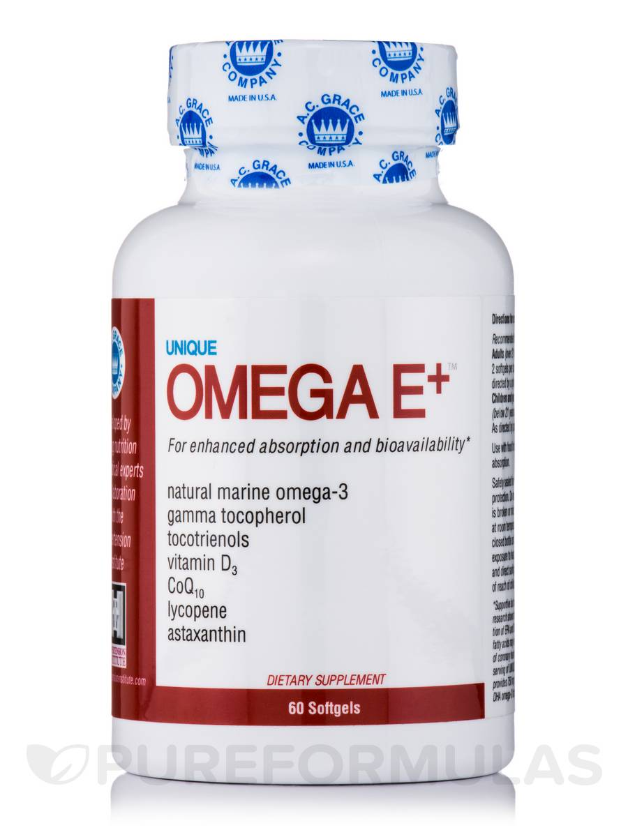 UNIQUE Omega E+™ - 60 Softgels