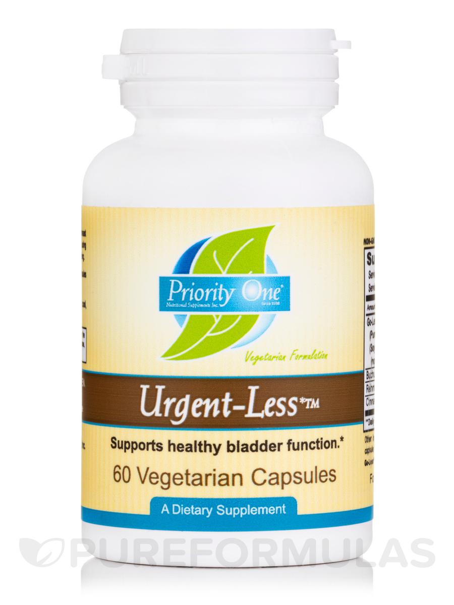 Urgent-Less™ - 60 Vegetarian Capsules