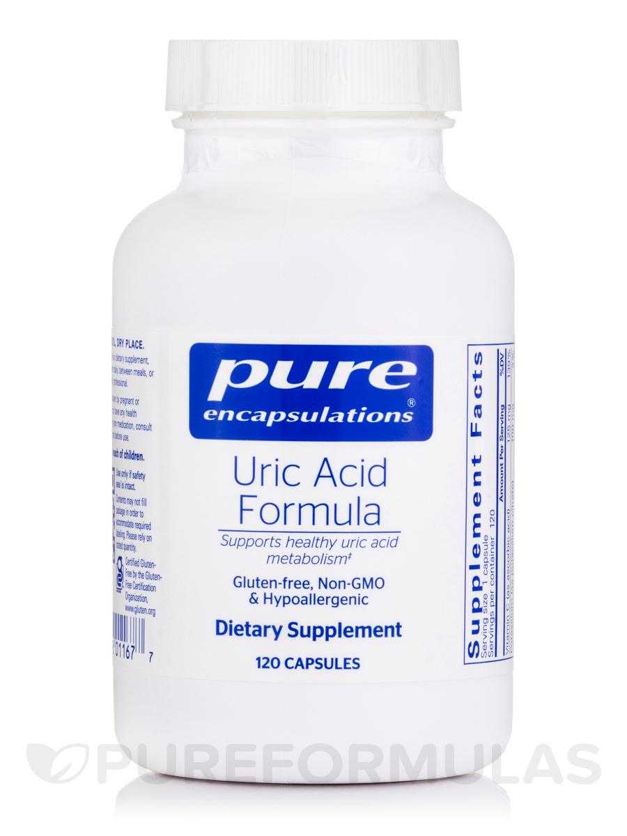 Uric Acid Formula - 120 Capsules