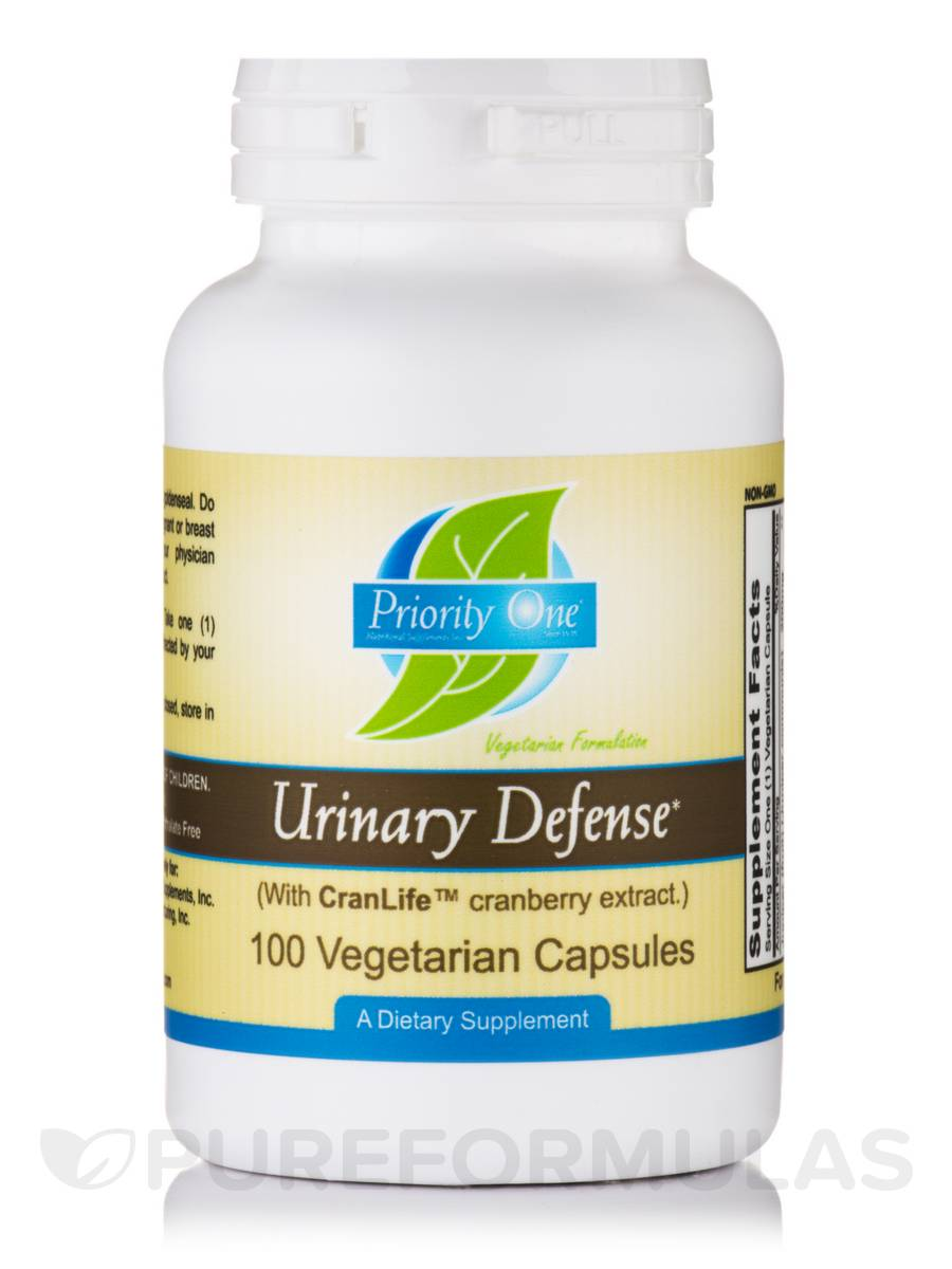 Urinary Defense (With CranLife™ Cranberry Extract) - 100 Vegetarian Capsules