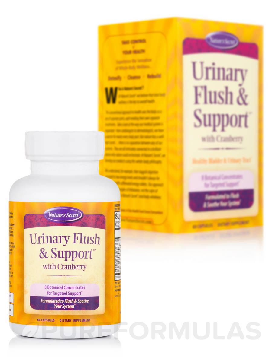 Urinary Flush & Support® with Cranberry - 60 Capsules