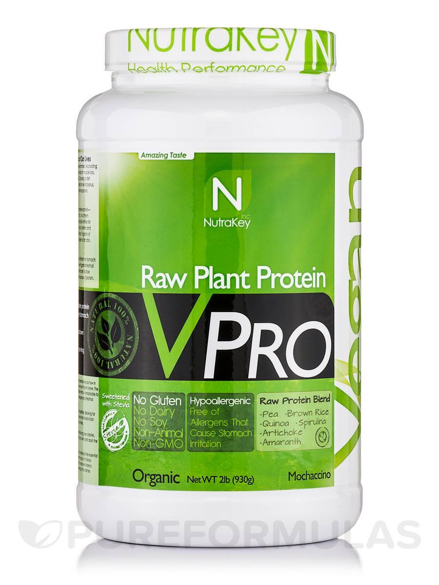 V Pro Raw Protein (Mochachino) - 2 lb (930 Grams)
