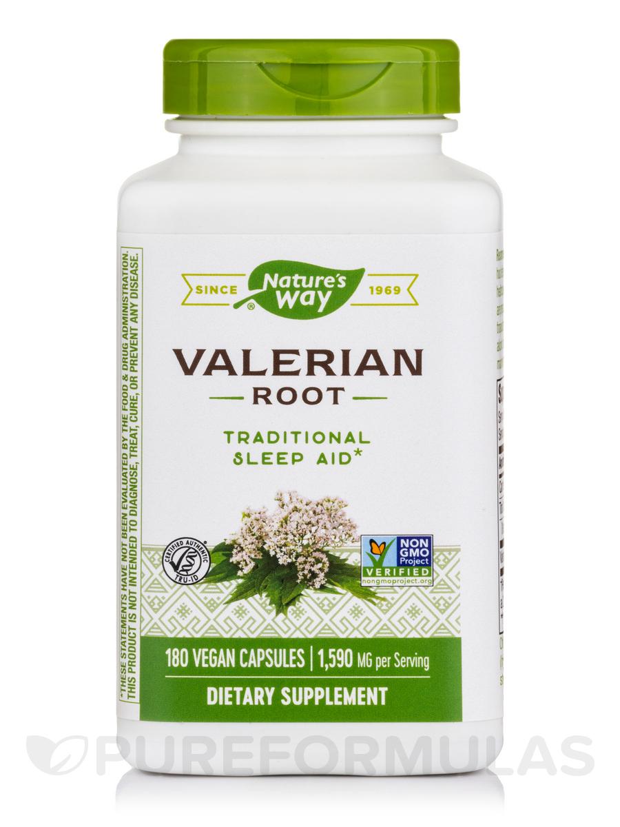 Valerian Root - 180 Capsules