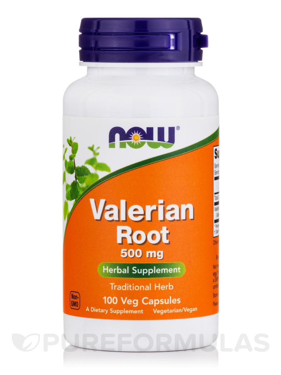 Valerian Root 500 mg - 100 Capsules