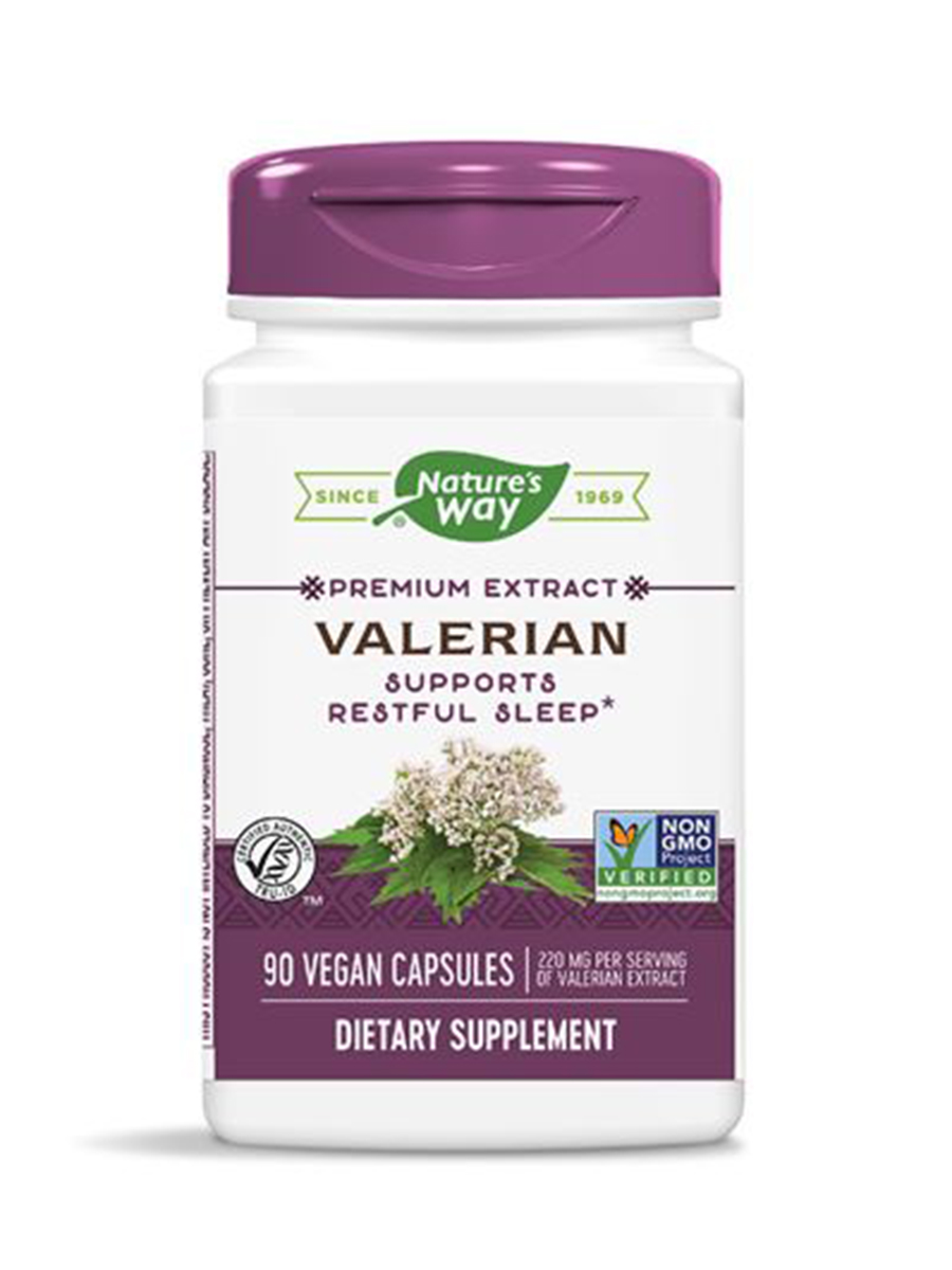 Valerian Standardized - 90 Capsules